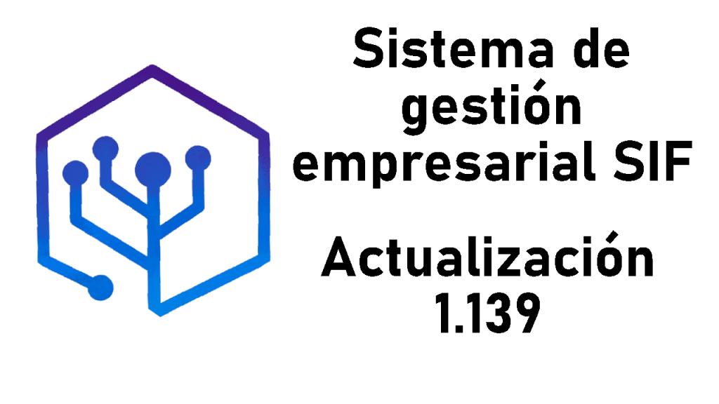 Configuración de impresoras térmicas – Actualización del SIF 1.139